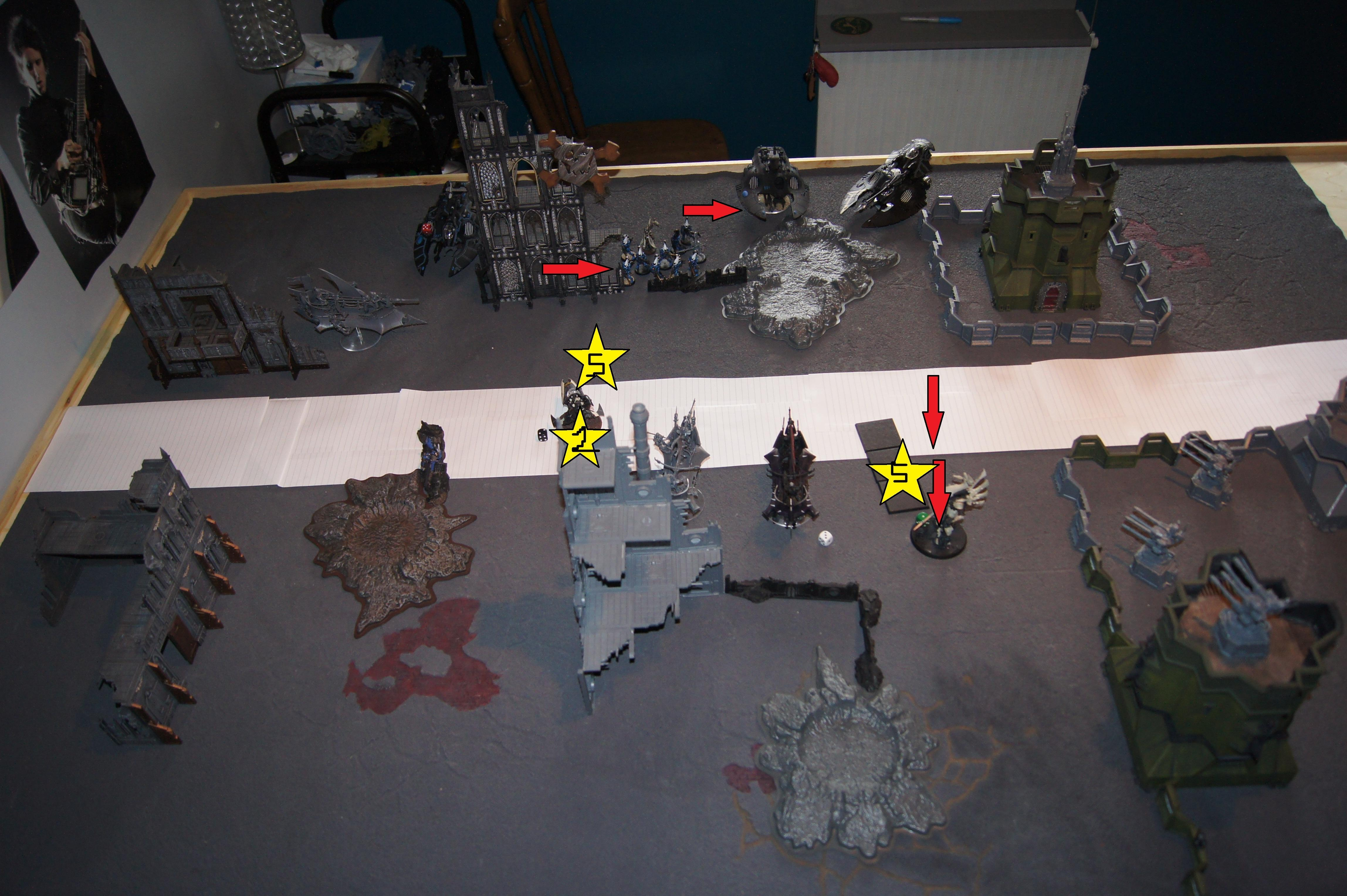 Battle Report, Dark, Eldar