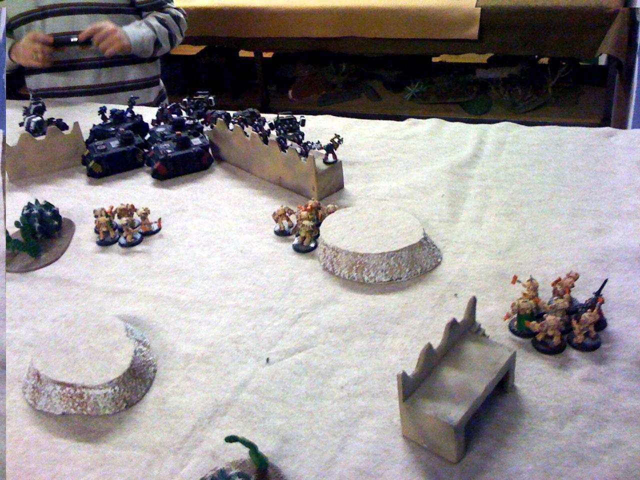 Battle Report, Deathwing, Feast Of Blades, Iron Hands