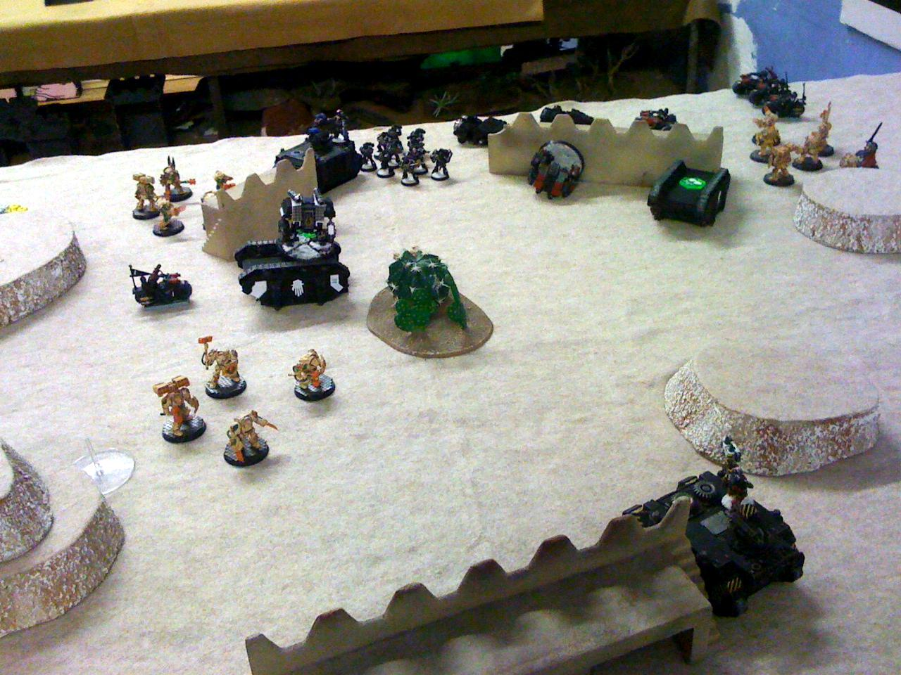 Battle Report, Deathwing, Feast Of Blades, Iron Hands