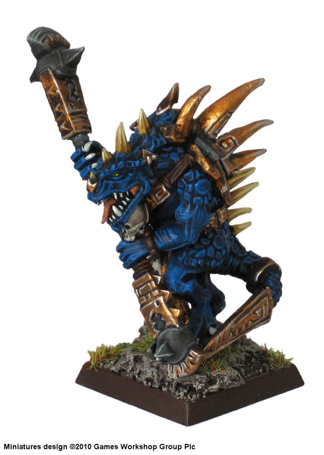Lizardmen, Omega, Scar, Veteran, Warhammer Fantasy