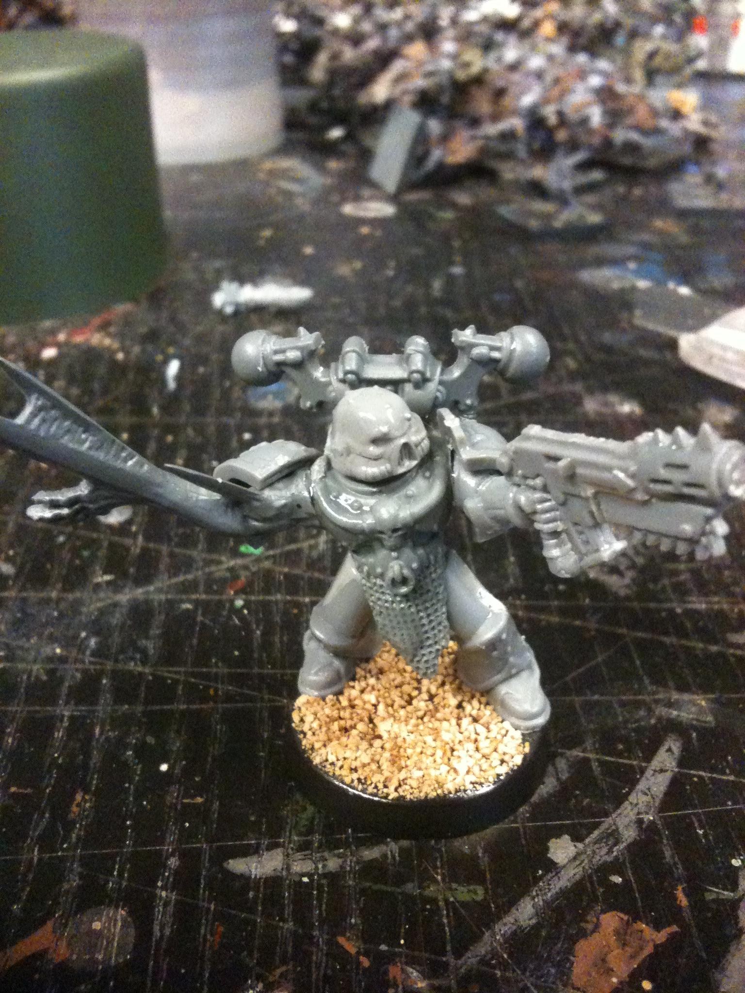 Second dude coming up... I couldnät make it Nurglish because of my limited equipment I'm able to carry to my local FLGS