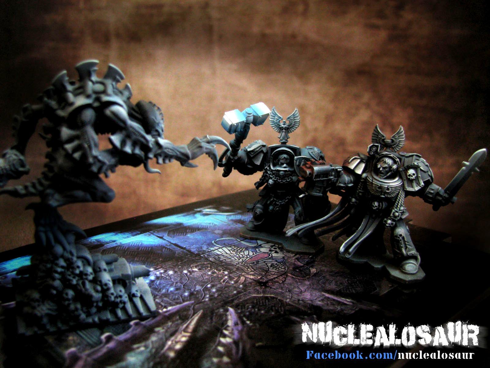 Broodlord, Genestealer, Space Hulk, Space Marines, Tyranids, Warhammer 40,000