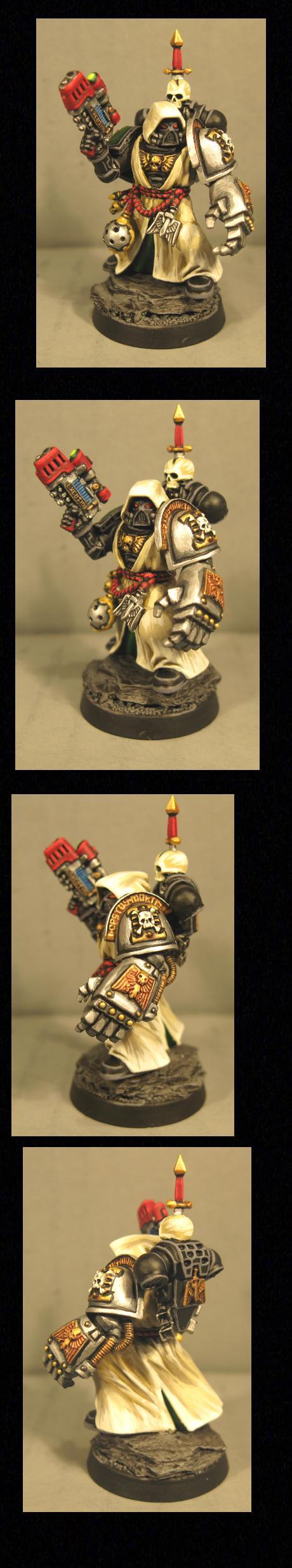 Dark Angels, Death Watch, Pro Painted, Veteran, Warhammer 40,000