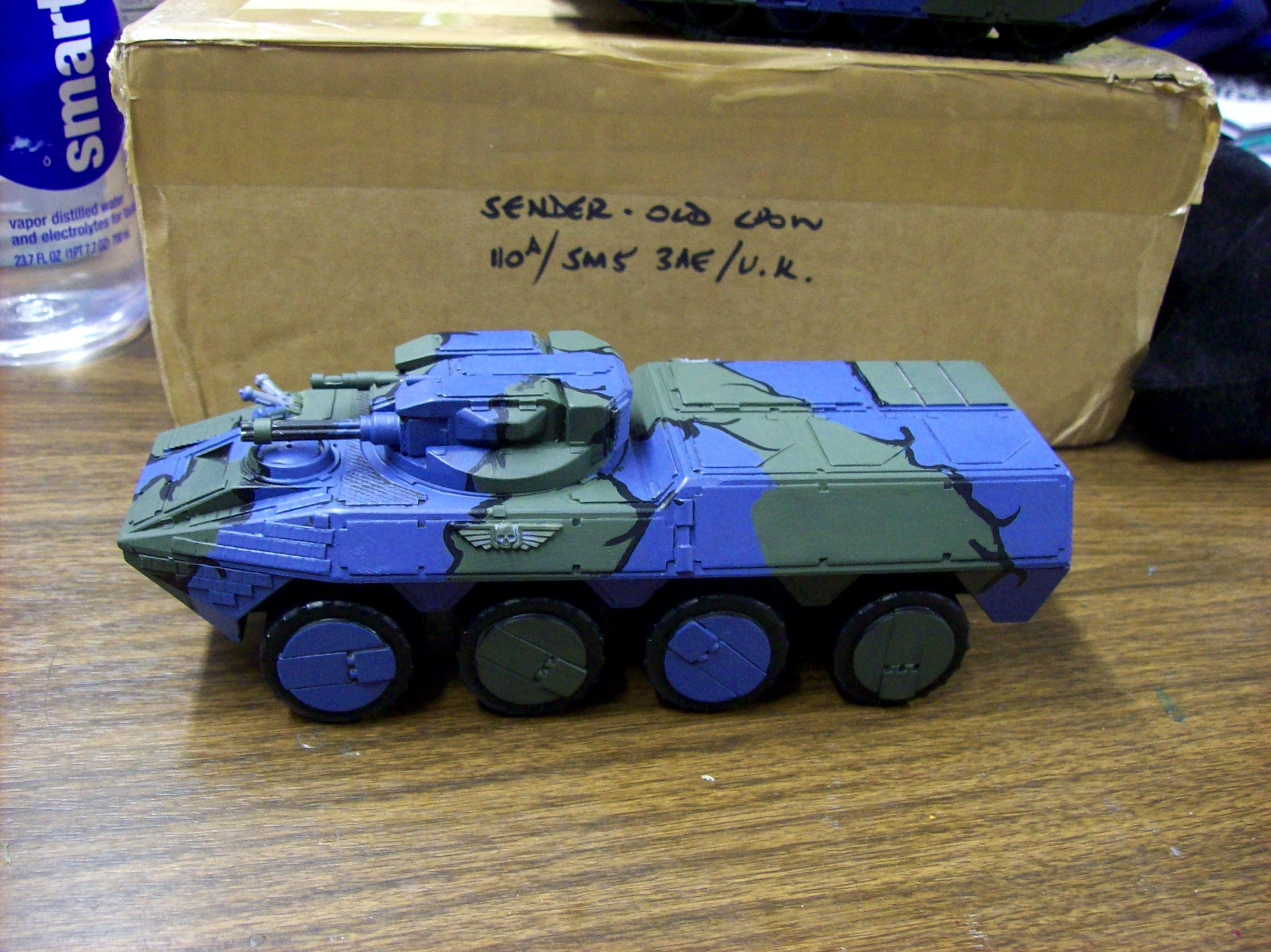 Imperial Guard, Transport