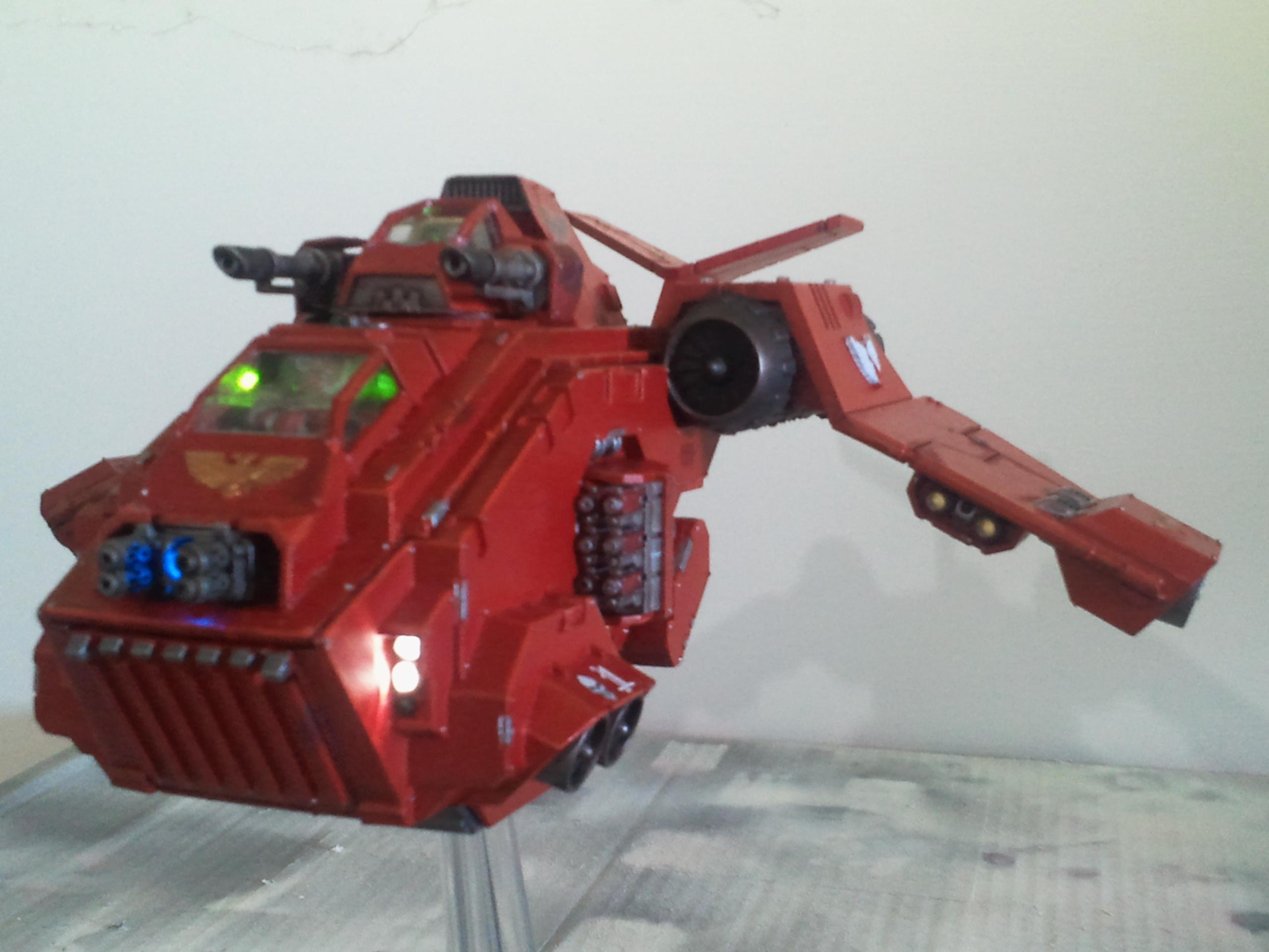 Blood Angels, Space Marines, Stormraven, Warhammer 40,000