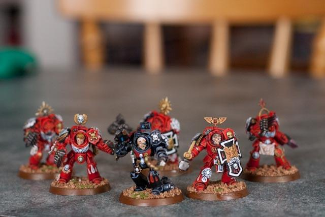 Blood Angels, Space Marines