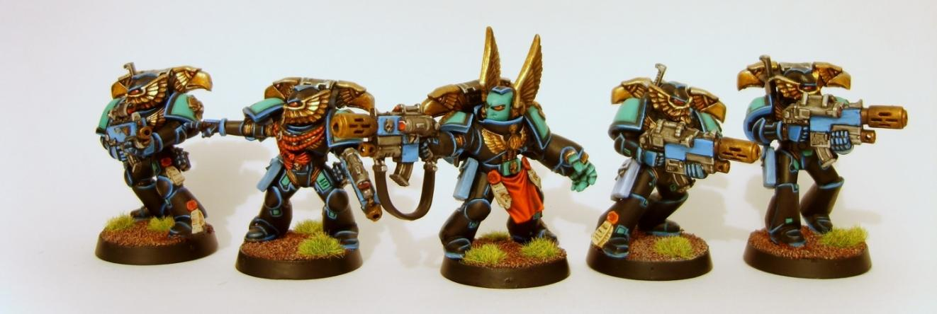Custom Chapter, Space Marines, Sternguard, Warhammer 40,000