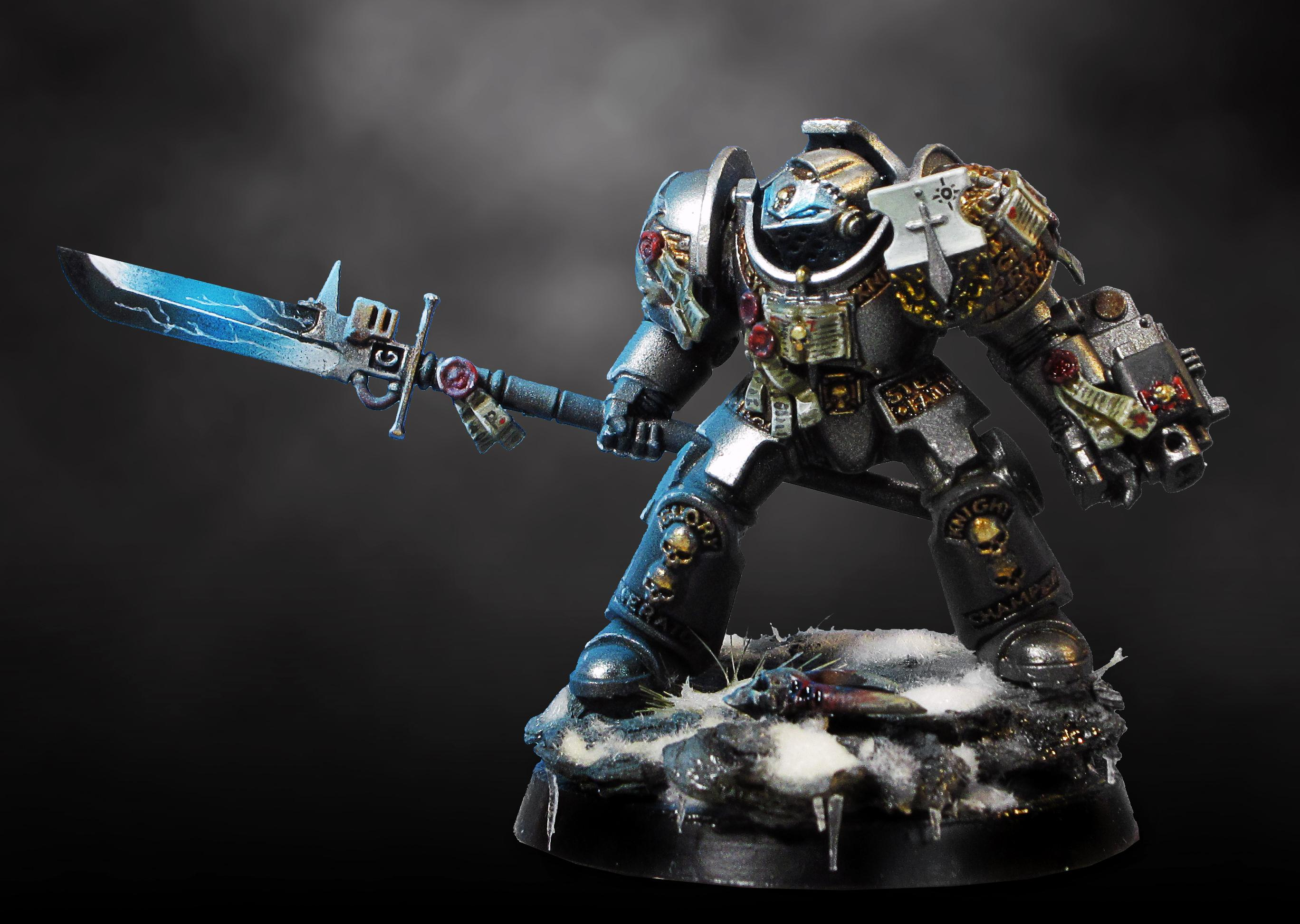 Grey Knights, Source Lighting, Space Marines, Terminator Armor, Warhammer 40,000