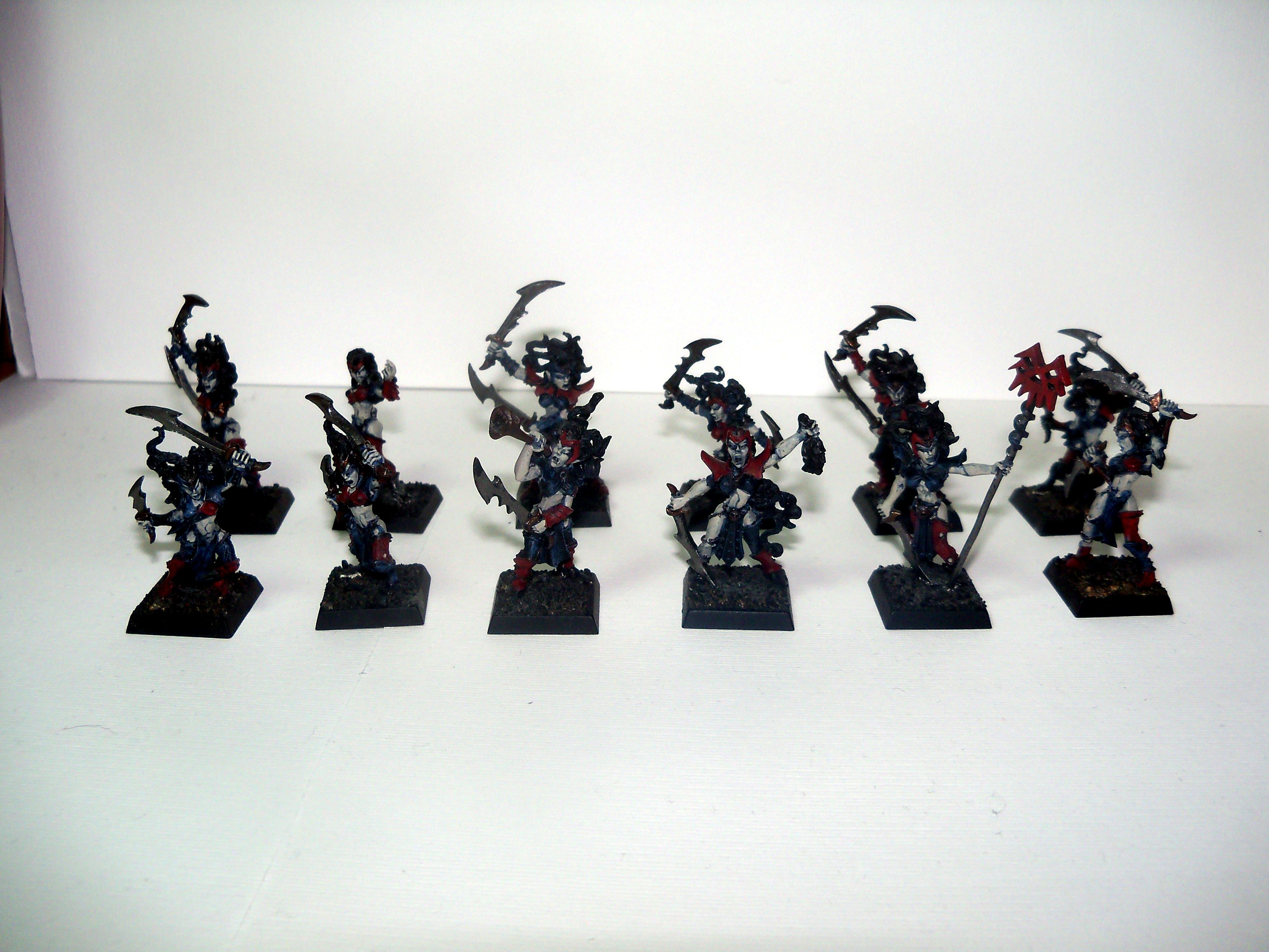 Withc Elves part painted