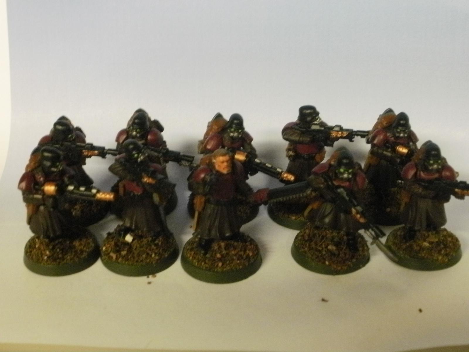 Greatcoats, Shock Troopers, Wargames Factory
