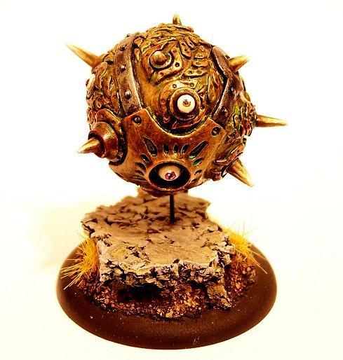Cryx, Detailed Paint Job, Warmachine