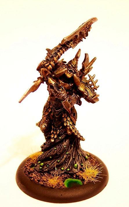 Cryx, Warmachine, Bane Lord Tartarus - Front