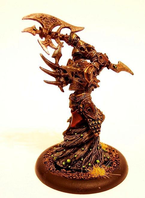 Cryx, Warmachine, Bane Lord Tartarus- Side 1
