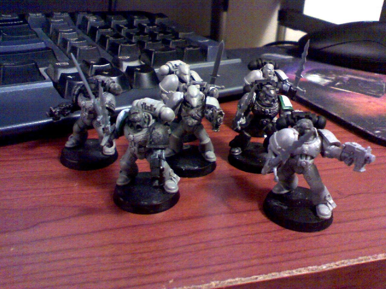 Assault Squad, Conversion, Greatsword, Space Marines, Storm Warden, Warhammer 40,000