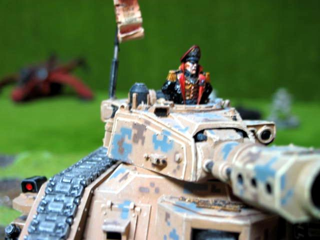 Commissar, Imperial Guard, Leman Russ