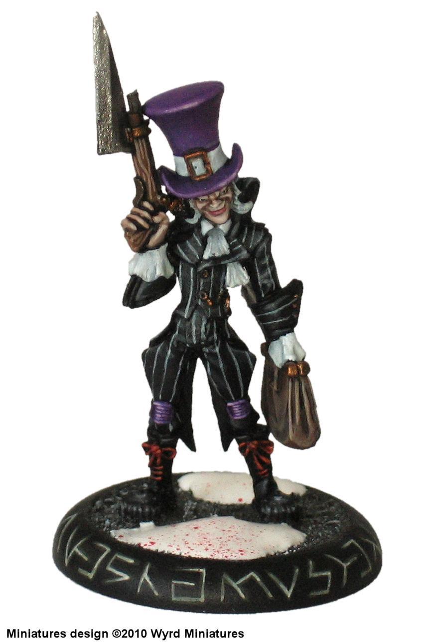 Hatter, Malifaux, Shamus, Steampunk, Victorian, Wyrd