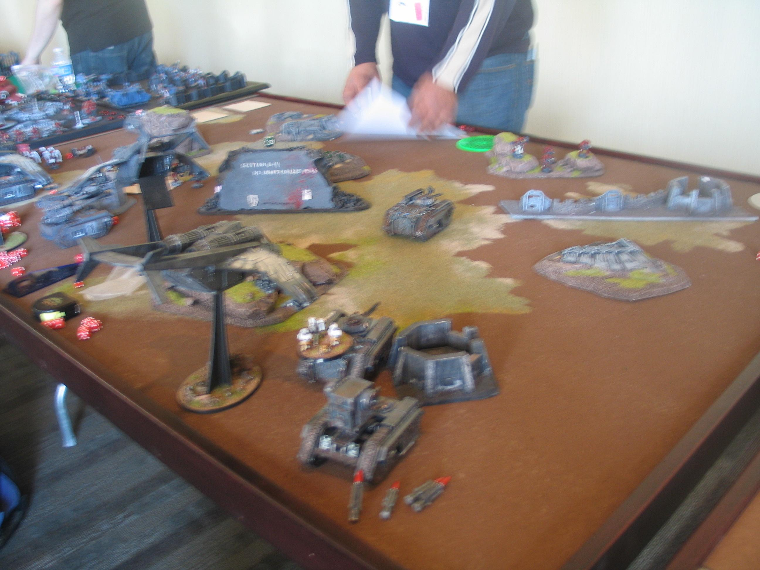 Colonial Gt 2011, Warhammer 40,000