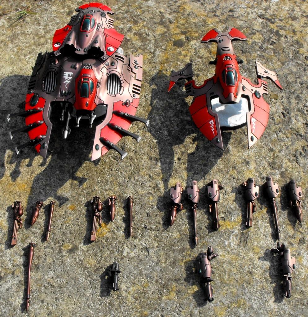Army, Eldar, Falcon, Hornet, Saim-hann, Warhammer 40,000, Wave Sepent