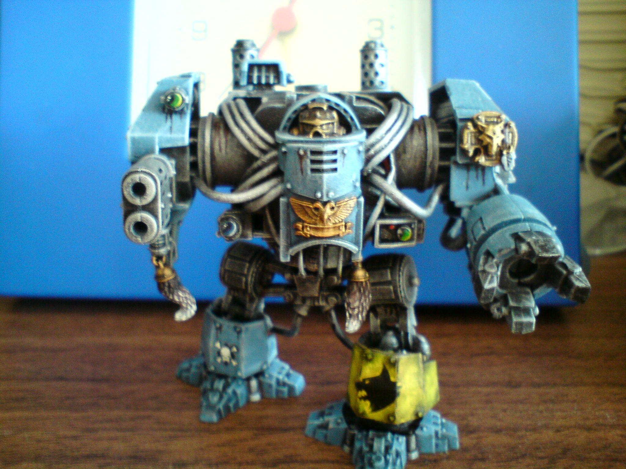 Dreadnouhgt, Multi Melta, Space Wolves, Venerable Dreadnought, Work In Progress