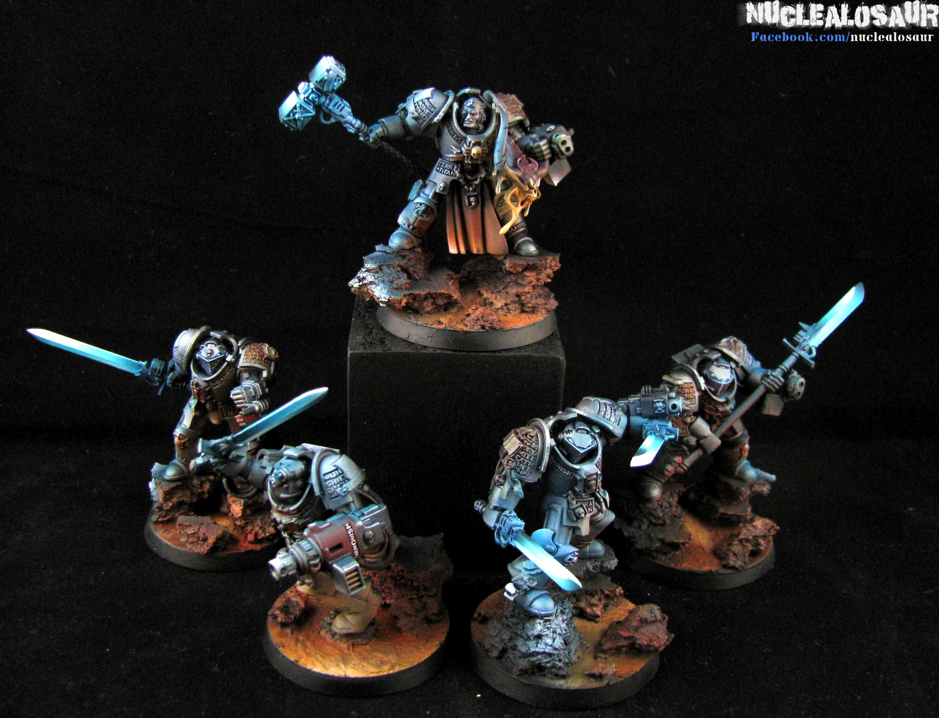 Grey Knights, Grey Knights. Source Lighting, Object Source Lighting, Objective Source Lighting