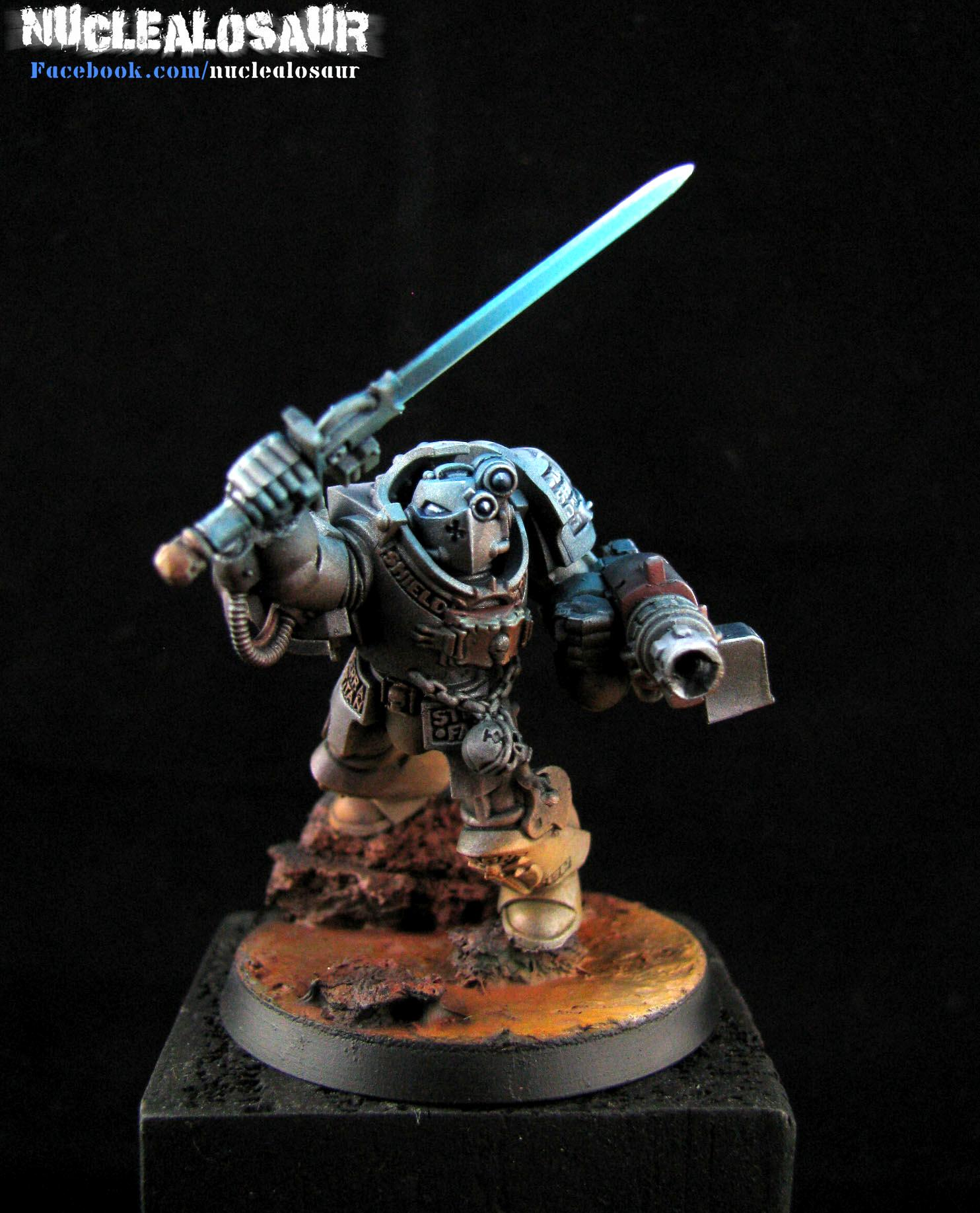 Awesome, Grey Knights, Terminator Armor, Zenithal Painting