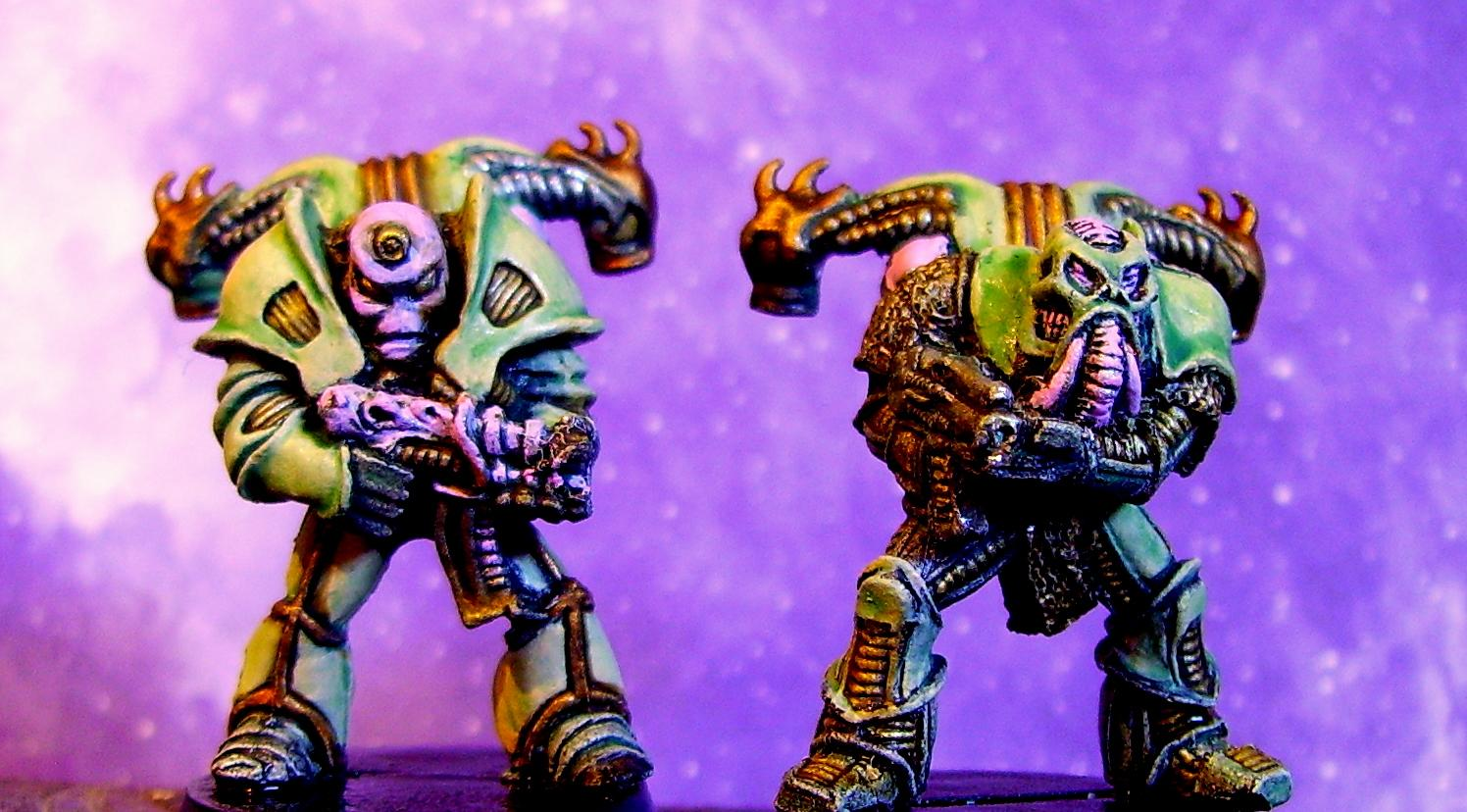 Chaos, Nurgle, Old, Out Of Production, Rogue Trader, Rt, Space Marines, Traitor