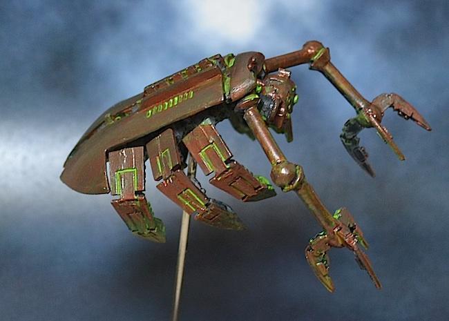 Conversion, Necrons, Spyder
