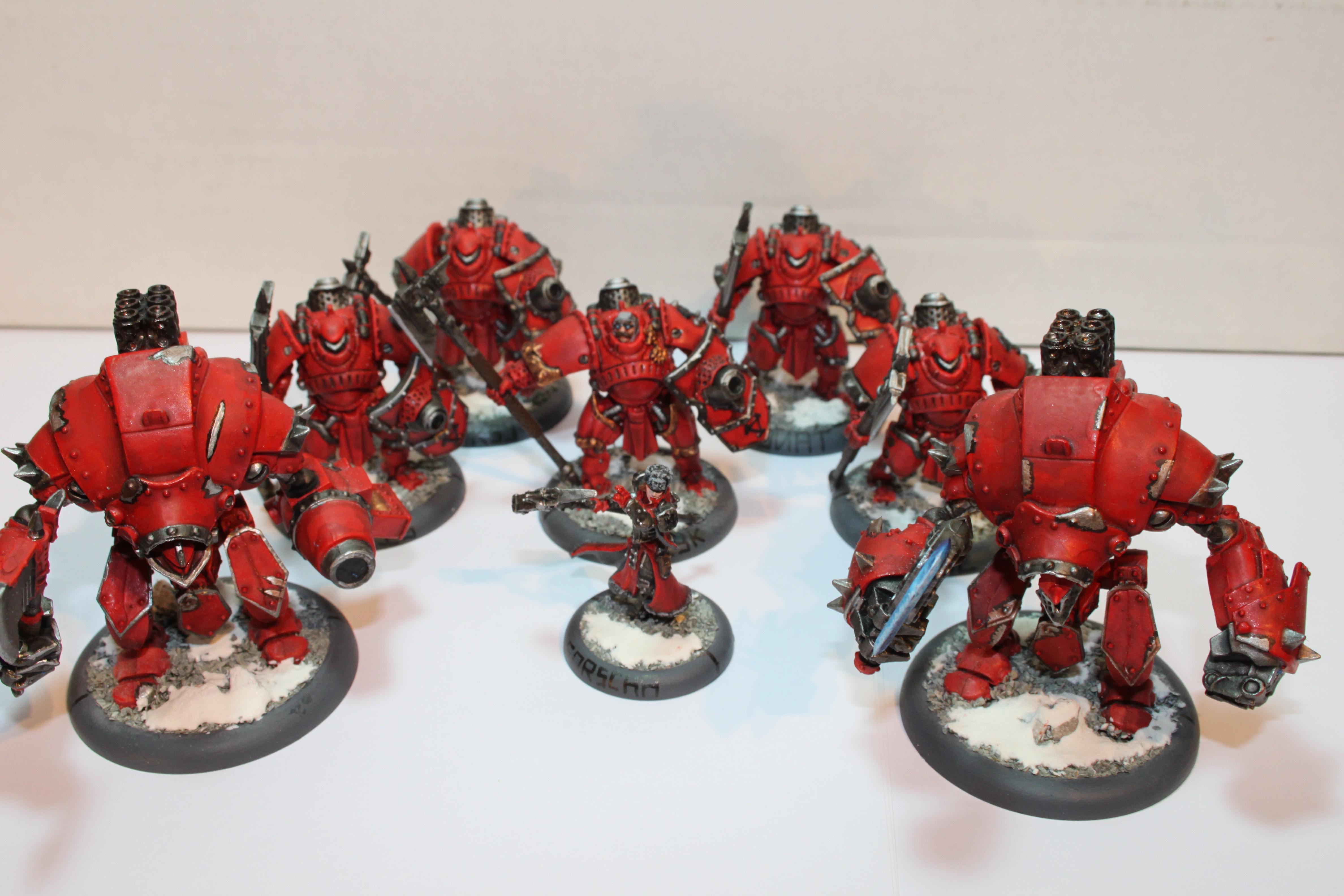 Khador, Man O War, Red, Shockstoopers, Snow, Warmachine