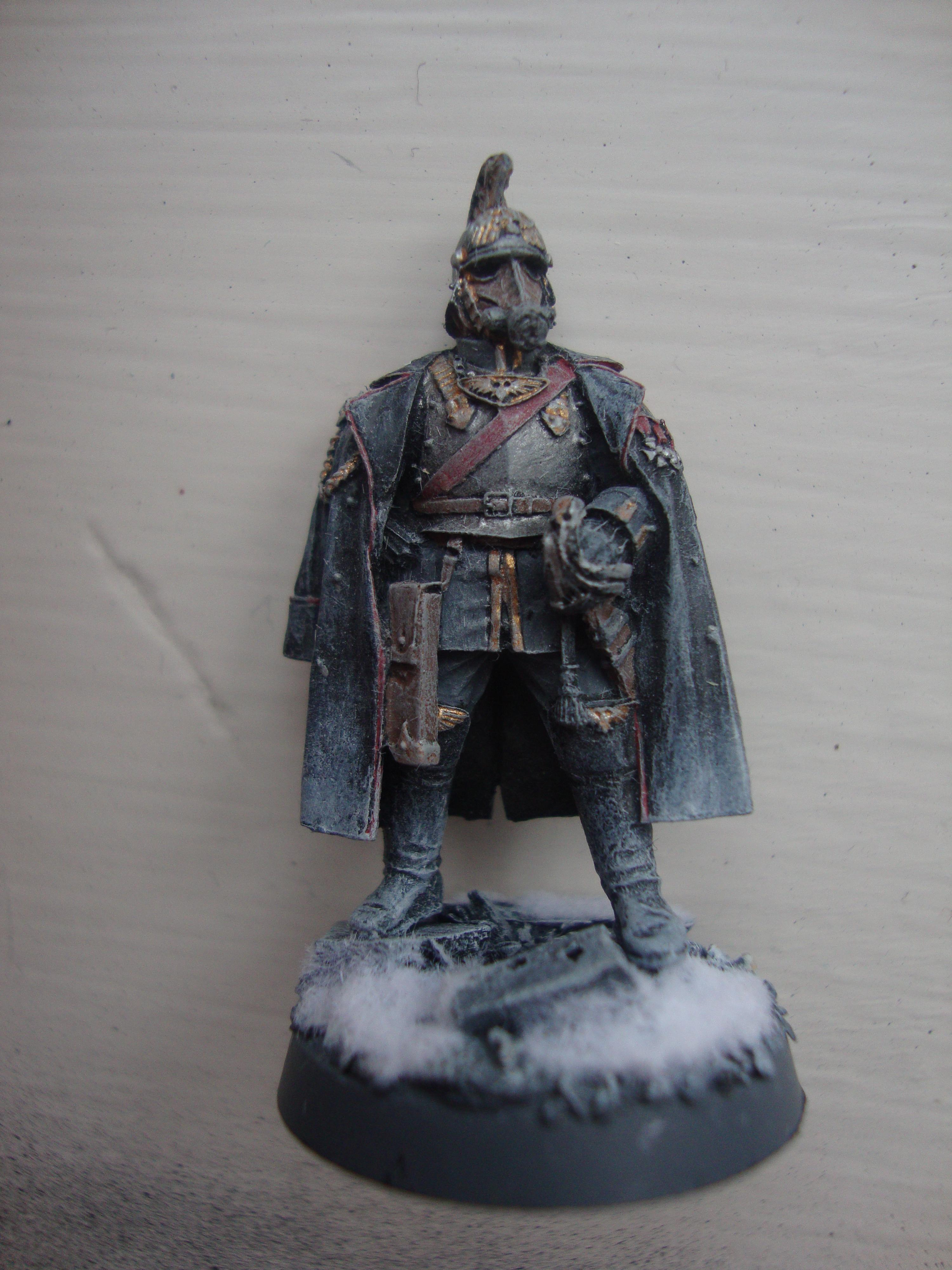 Captain, Commander, Death Korps of Krieg, Field Marshall, Forge World, General, Imperial Guard, Warhammer 40,000