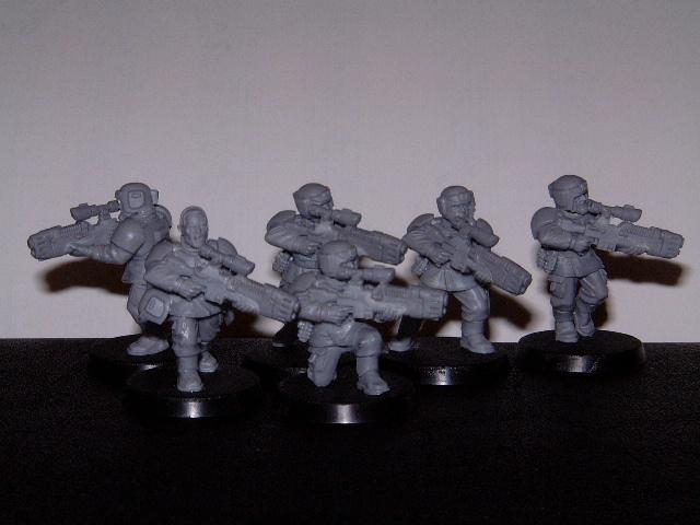 Conversion, Imperial Guard, Lasgun, Plasma, Work In Progress