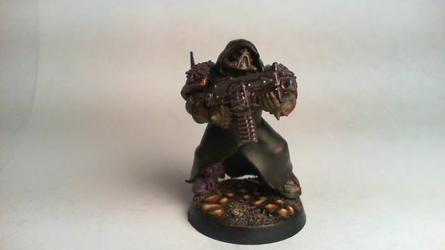 Chaos Space Marines, Cloak, Hood, Nurgle, Plague Marines, Robe