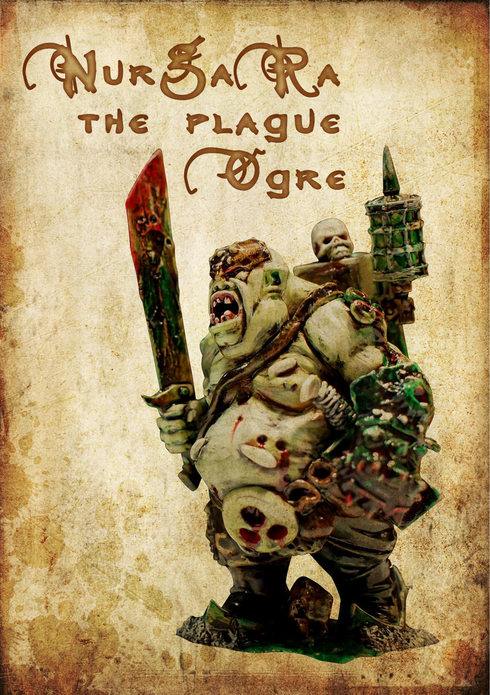 Artwork, Character, Fantasy Art, Festus, Festus The Leechlord, Magic, Nurgle, Ogres, Plague, Vintage, Warhammer Fantasy, Warrior Of Chaos