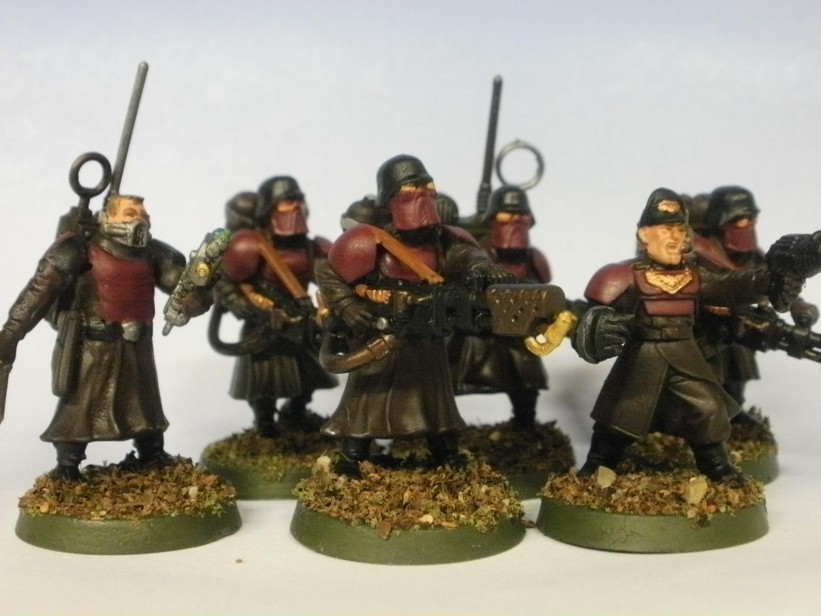Greatcoats, Imperial Guard, Wargames Factory