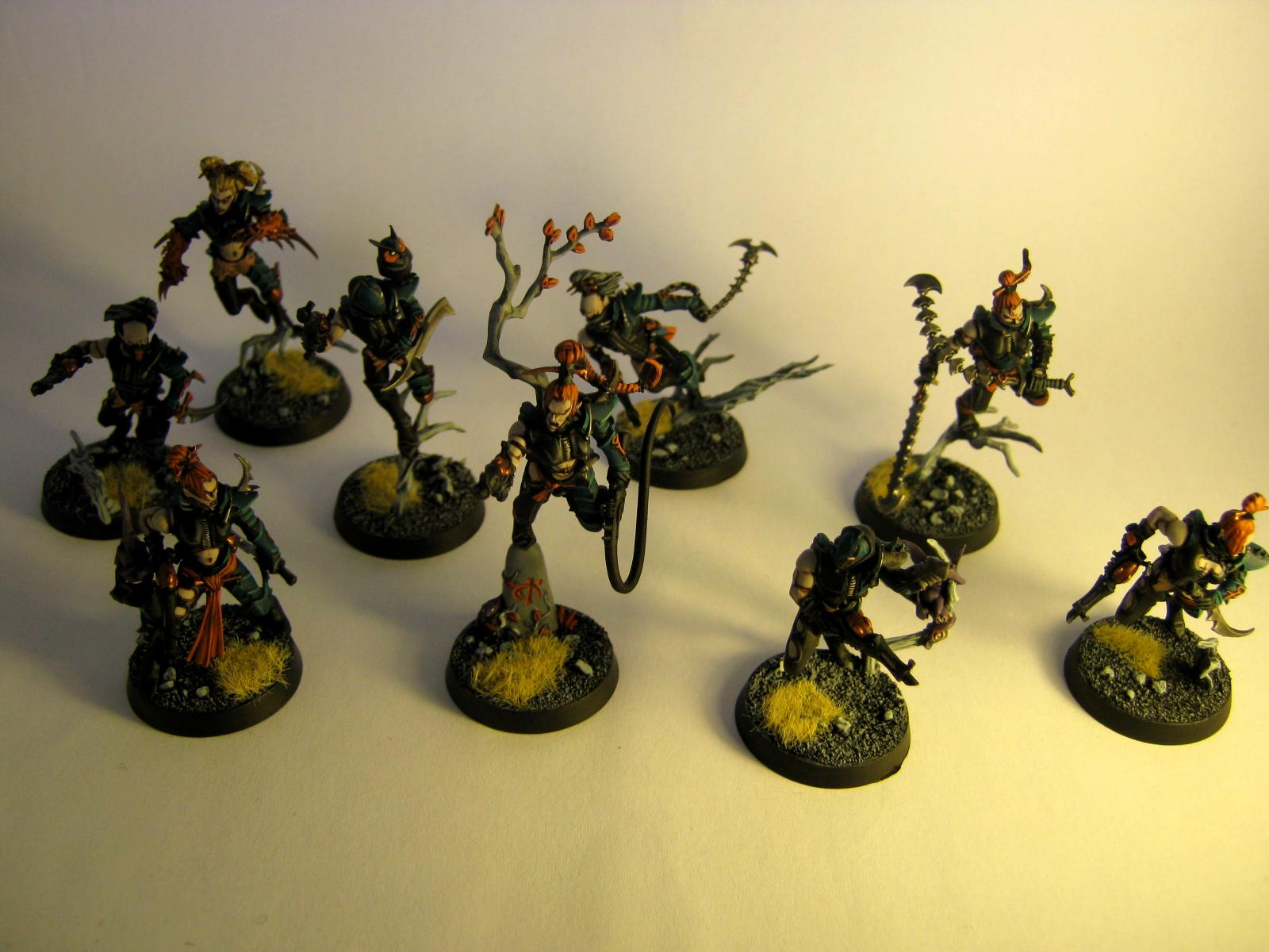 Corpse Forest, Dark Eldar, Work In Progress, Wych
