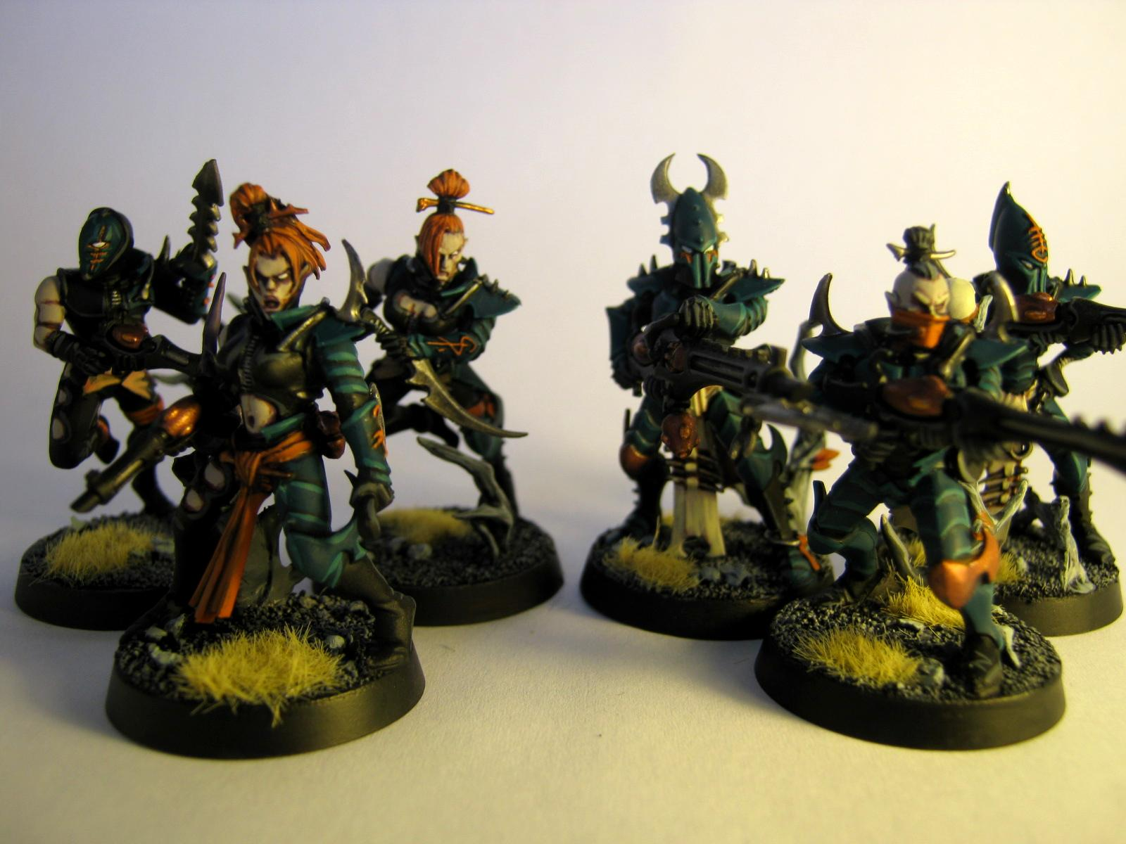 Corpse Forest, Dark Eldar, Kabalite, Work In Progress, Wych