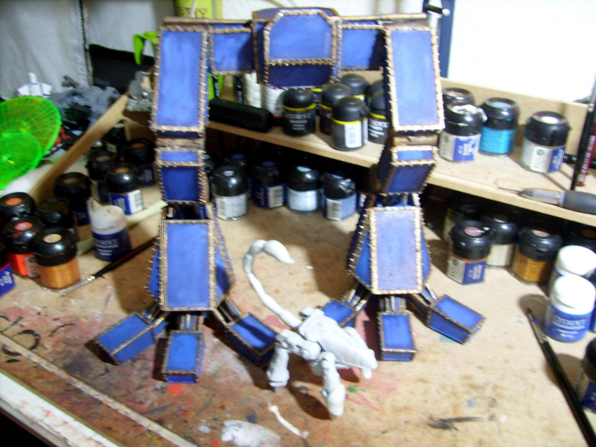 Titan legs painted