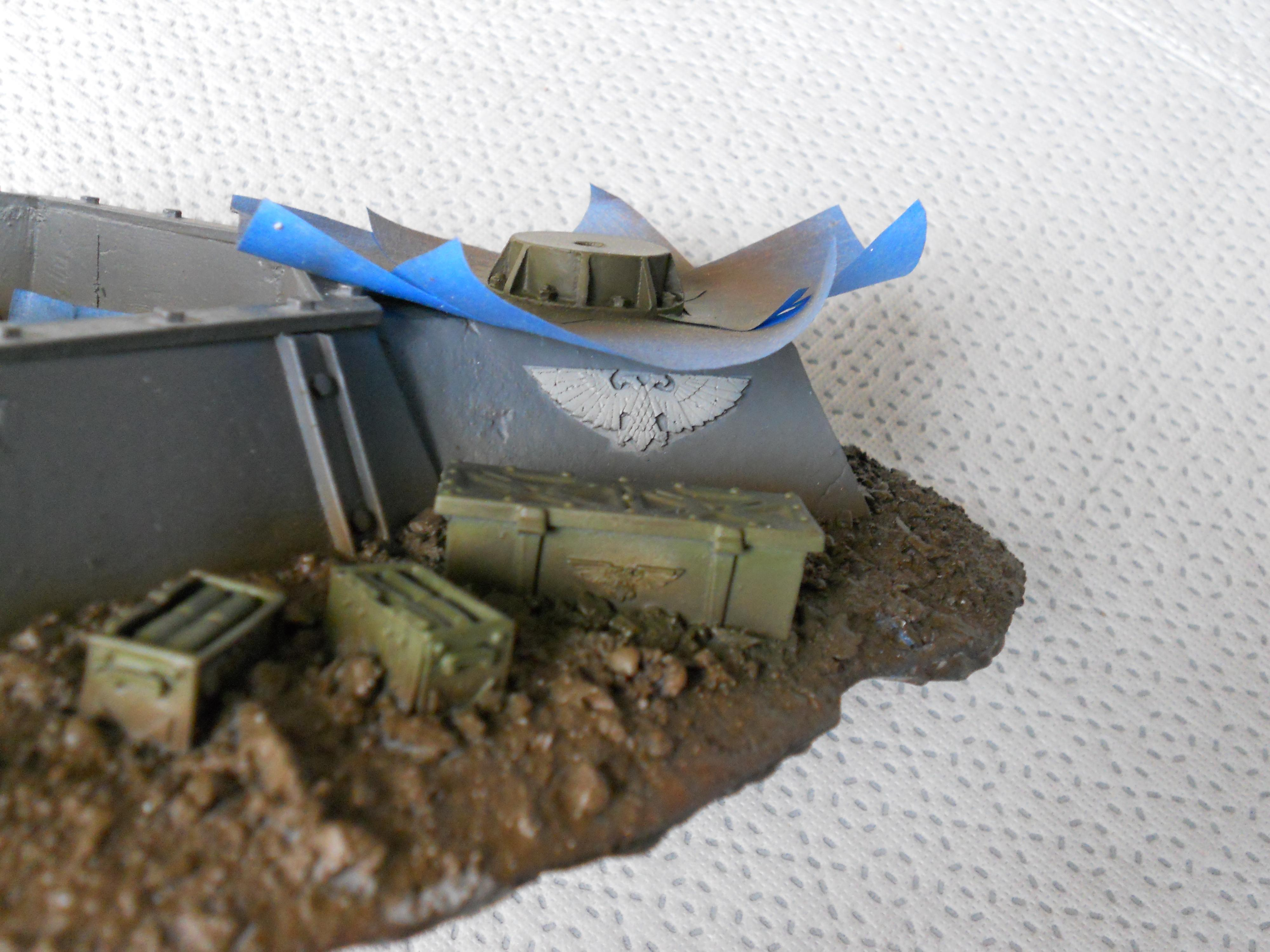 Detail shot of Hydra Emplacement scenic base