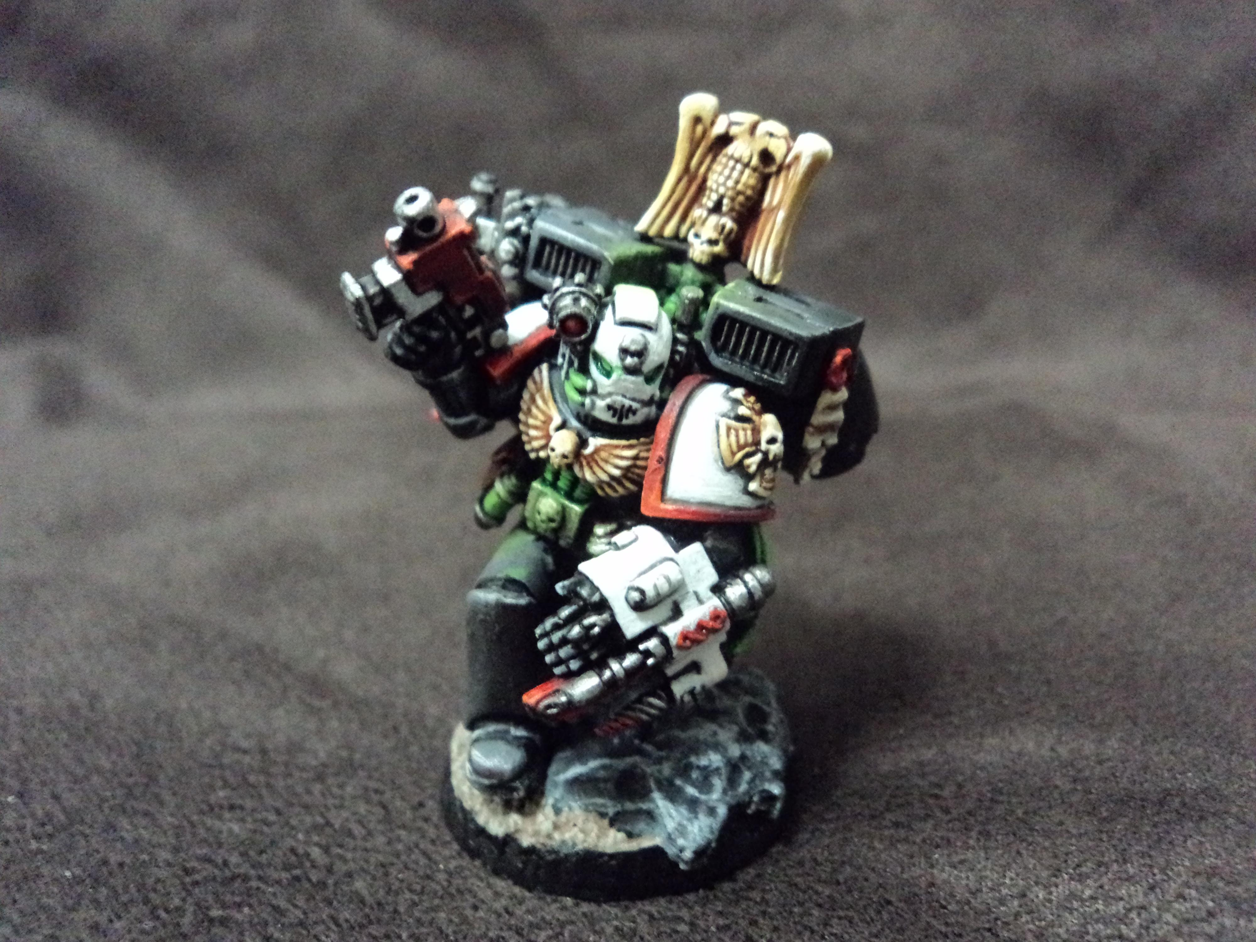 Apothecary, Command Squad, Dark Angels