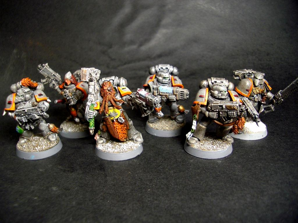 Fox Marine, Fox Marines, Space Wolves