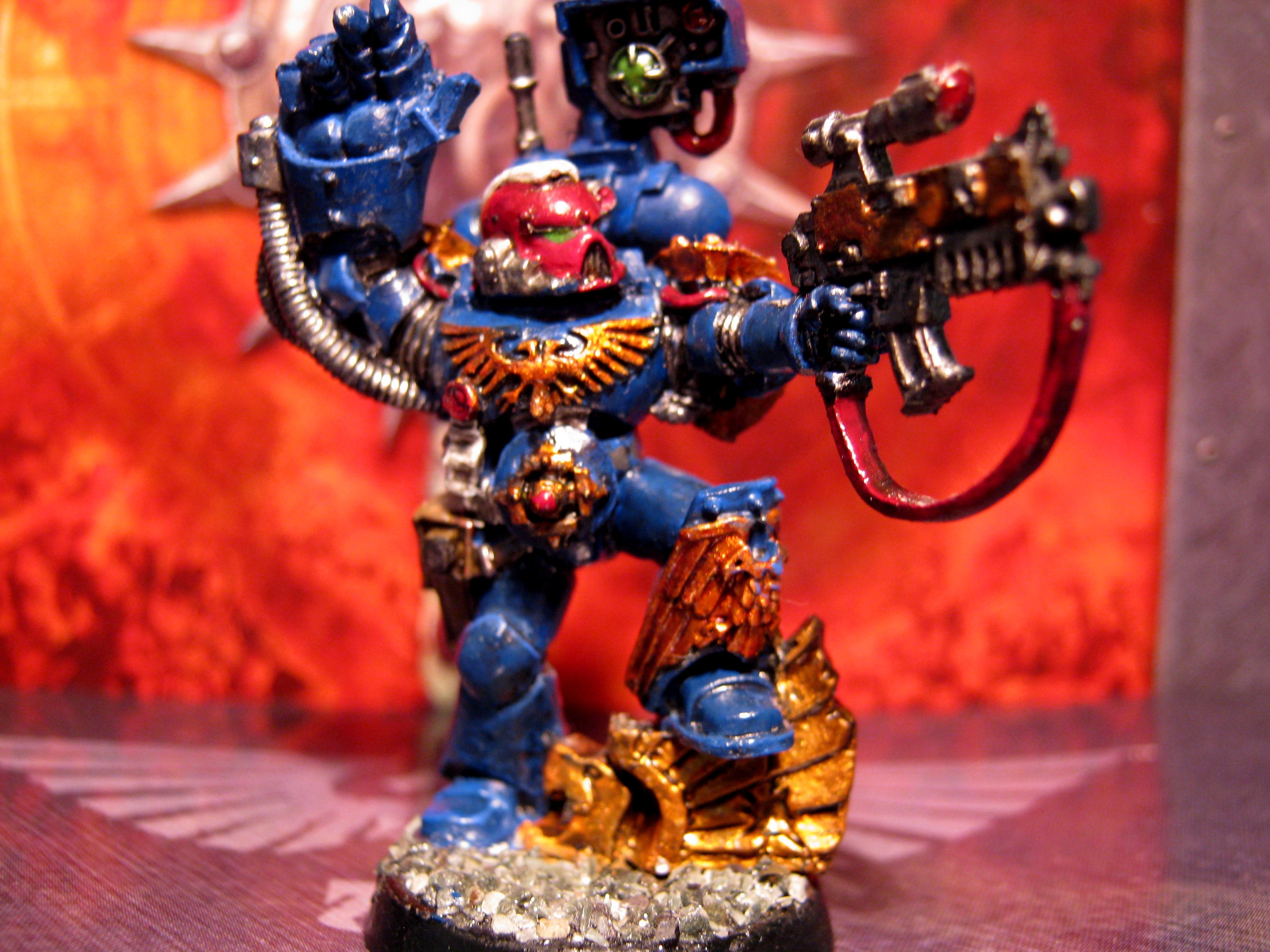 Power Fist, Seargent, Space Marines, Sternguard