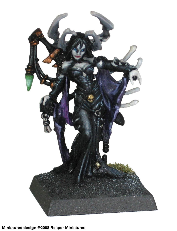 Ghoul, Goth Fantasy, Queen, Reaper, Sorceress