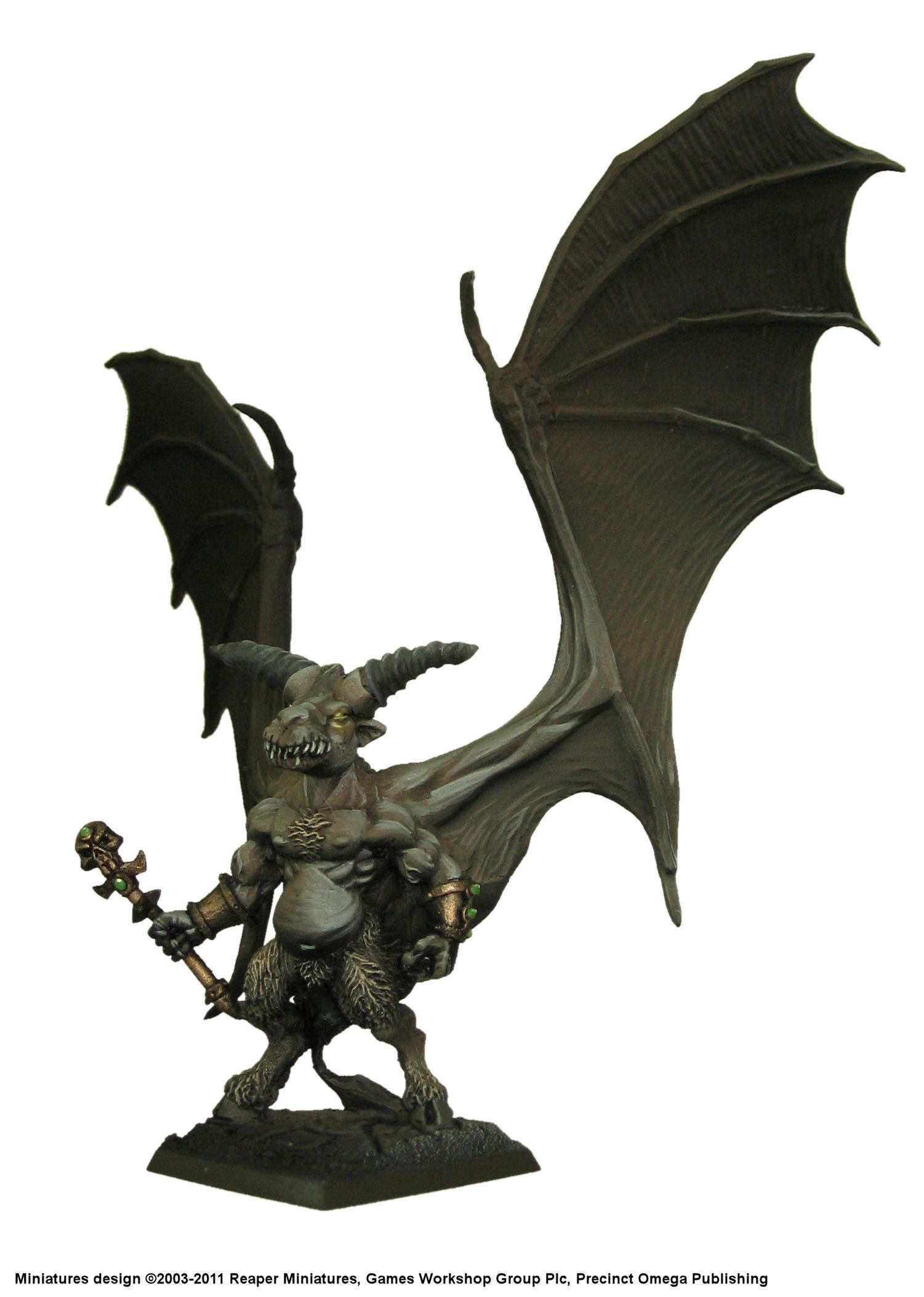 Balrog, Daemons, Orcus, Reaper, Sculpting, Warhammer Fantasy