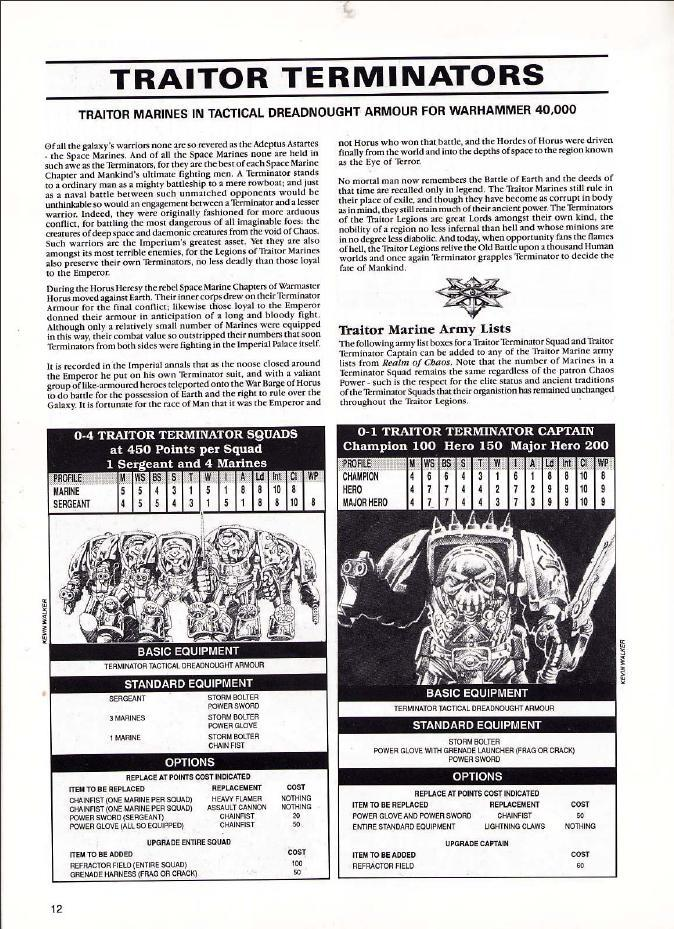 Out Of Production, Retro Review, Warhammer 40,000