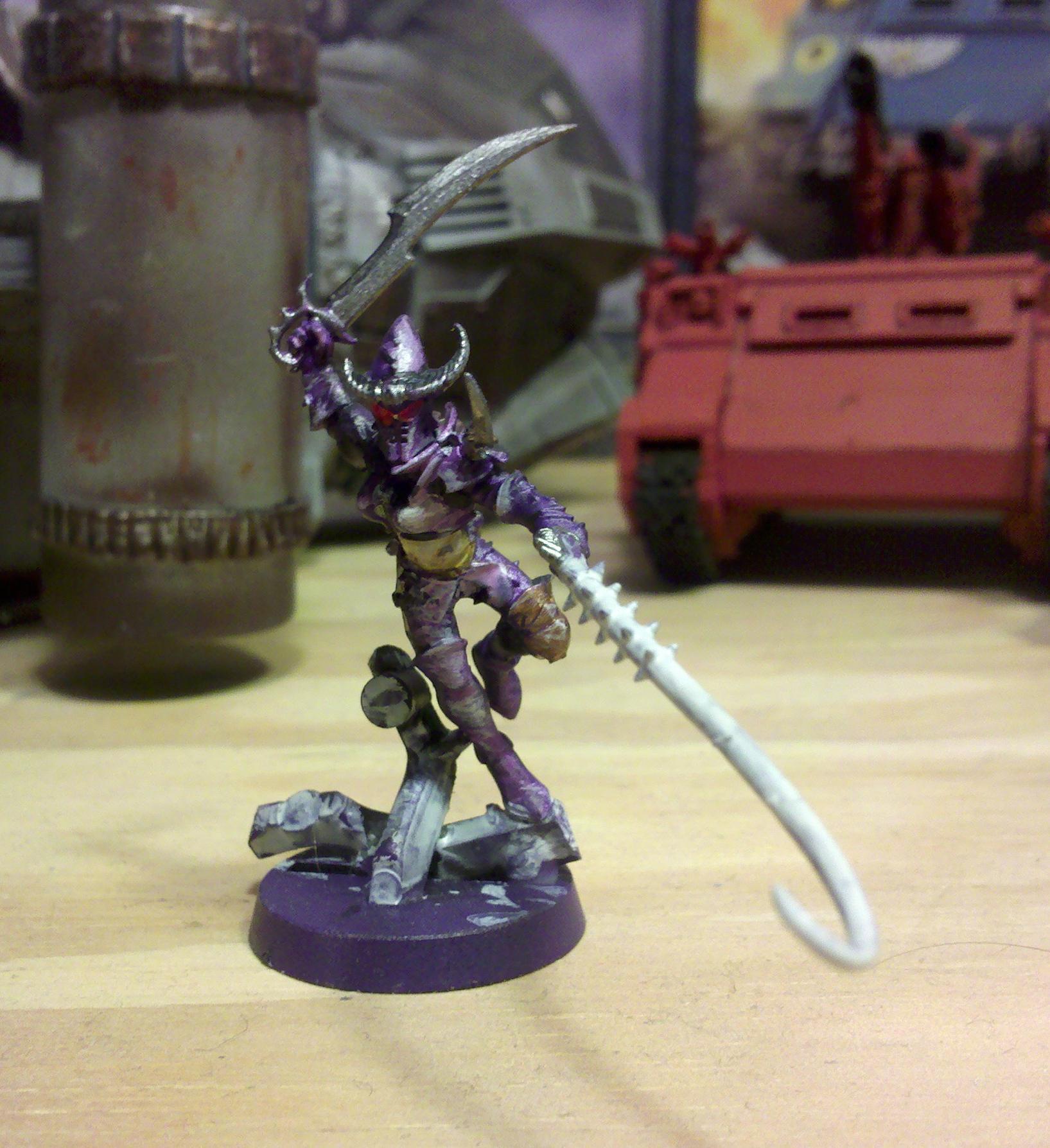 Agonizer, Custom, Dark Eldar, Hekatrix, Warriors, Wych