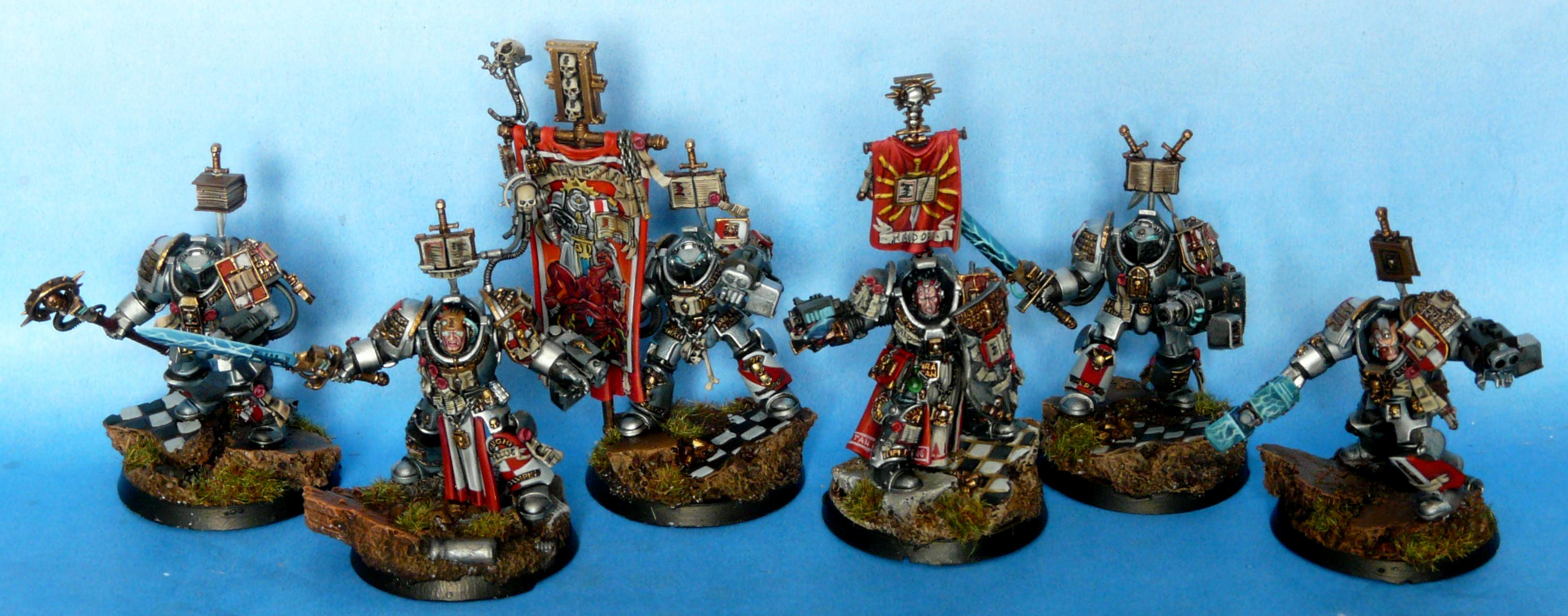 Grey Knights, Inquisition, Inquisitor, Terminator Armor