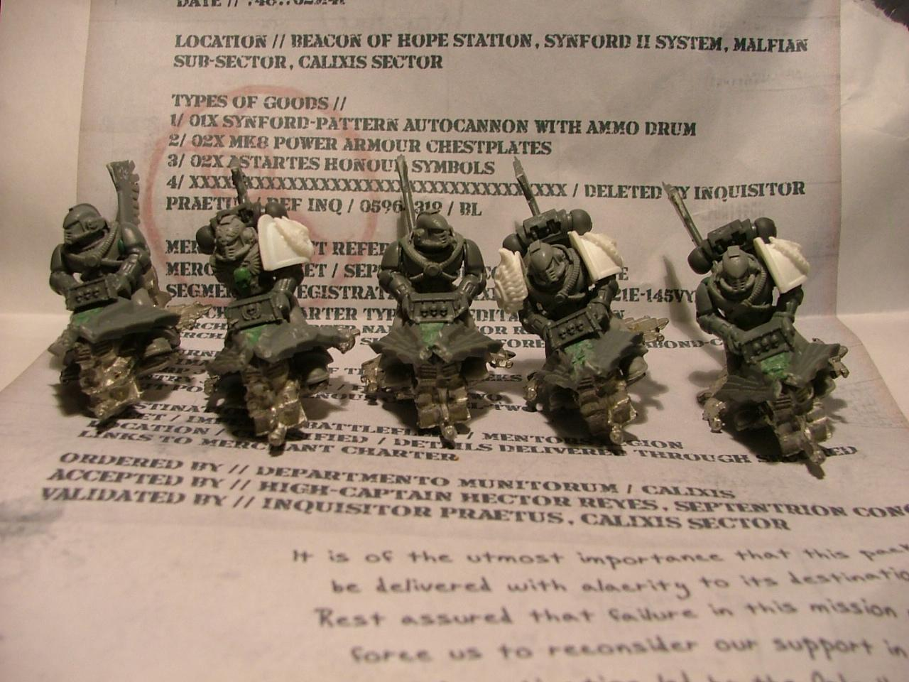 Space Marines, Further jetbike wips