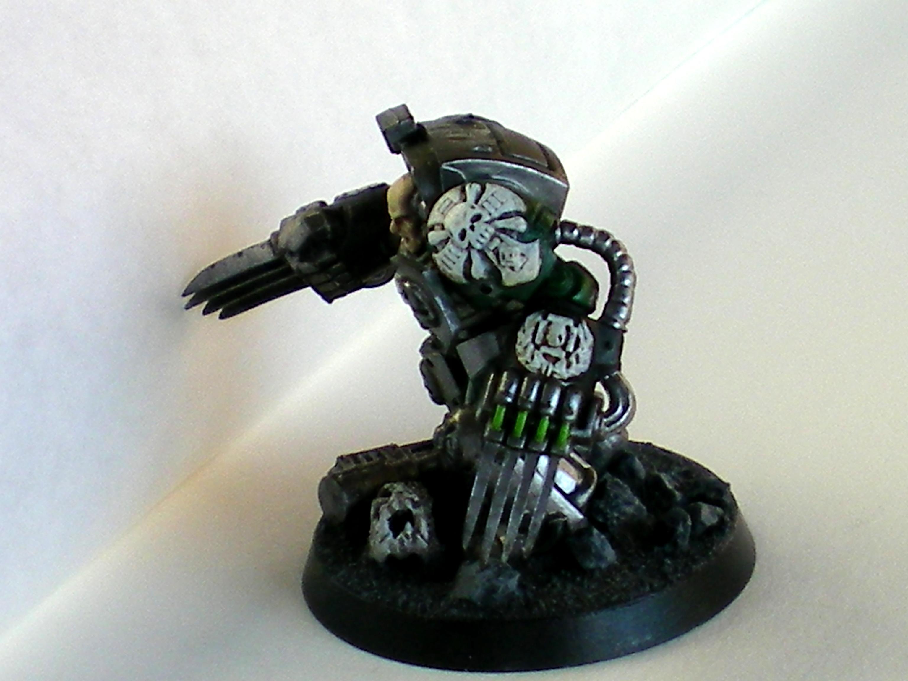 Space Marines, Terminator Armor, Warhammer 40,000