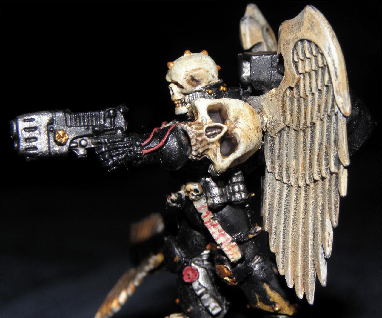 Blood Angels, Chaplain, Lamenters, Plasma Pistol
