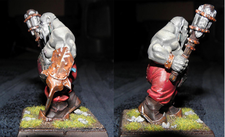 Bull, Fist Weapon, Ogre Bull, Ogres, Warhammer Fantasy