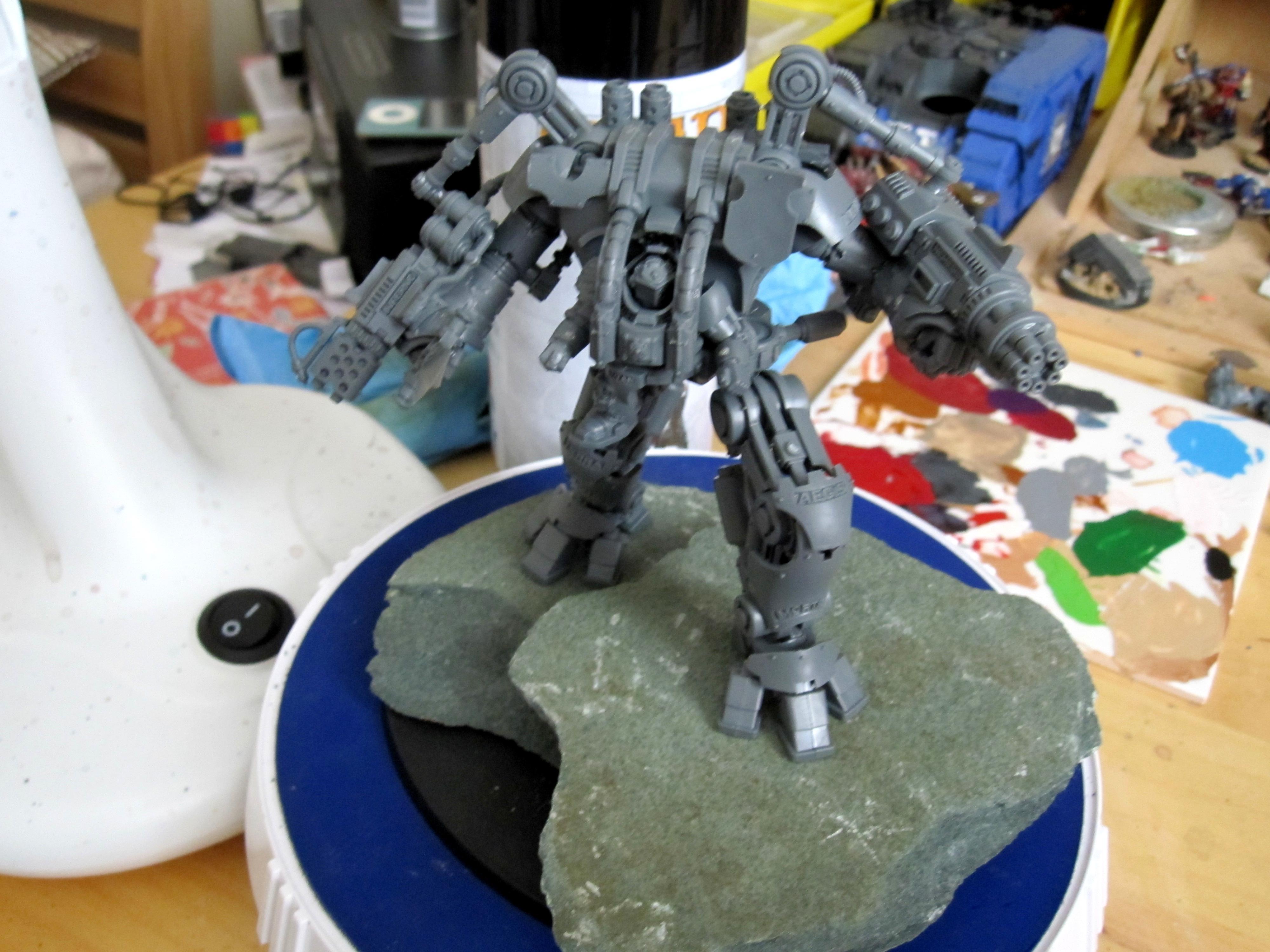 Dread Knight, Grey Knights, Power Sword, Work In Progress